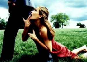 Clinging Partner In Romance