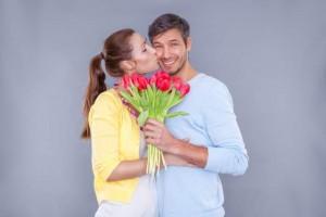 Loving Couple Celebrate Anniversary